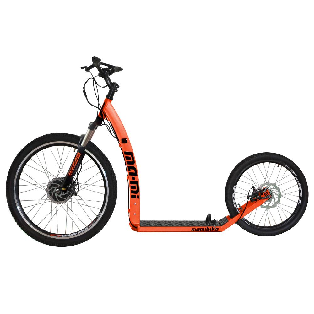 Elektrokoloběžka MA-MI MOUNTAIN s rychlonabíječkou oranžová