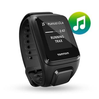 GPS hodinky TomTom Spark Fitness Music + sluchátka