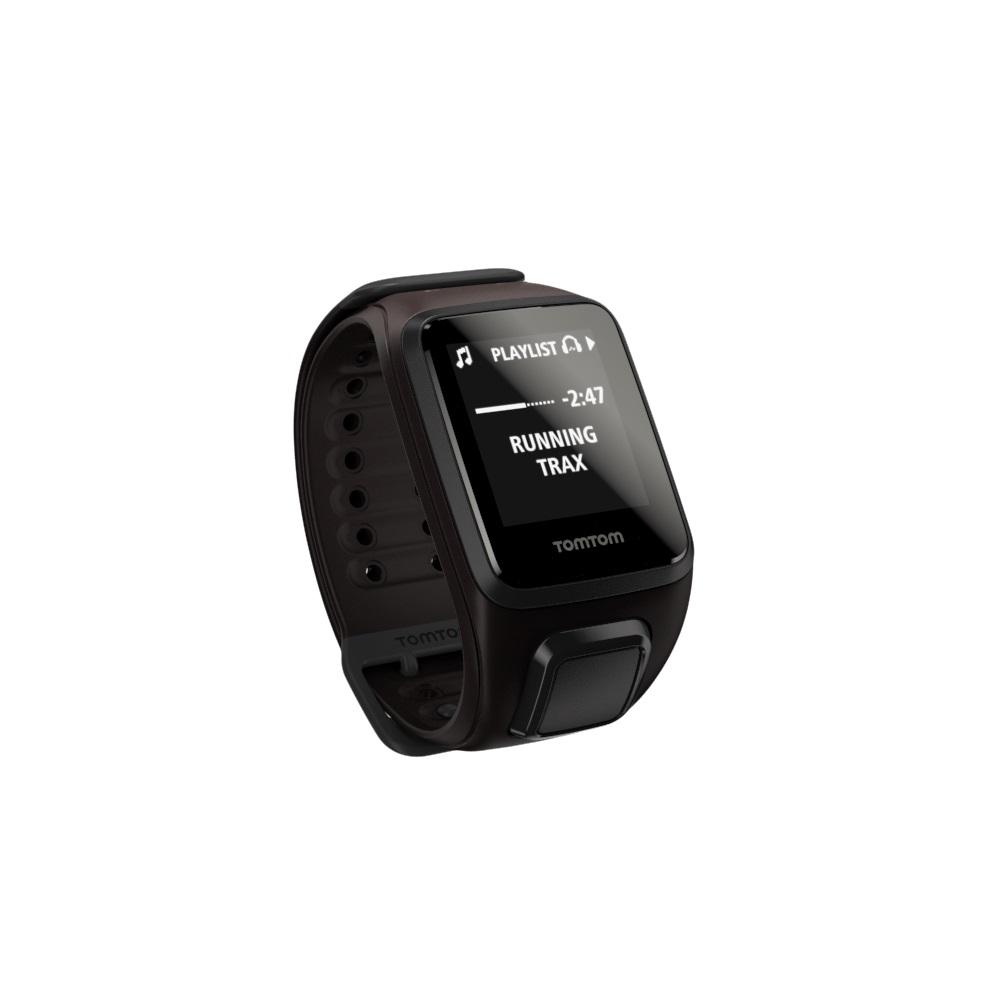 GPS hodinky TomTom Spark Fitness Cardio + Music hnědá - L (143-206 mm)