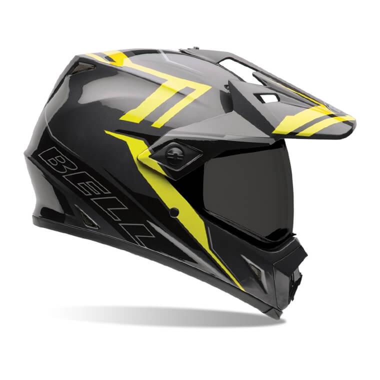 Motokrosová přilba BELL MX-9 Adventure Barricade Hi-Viz - S (55-56) - Záruka 5 let