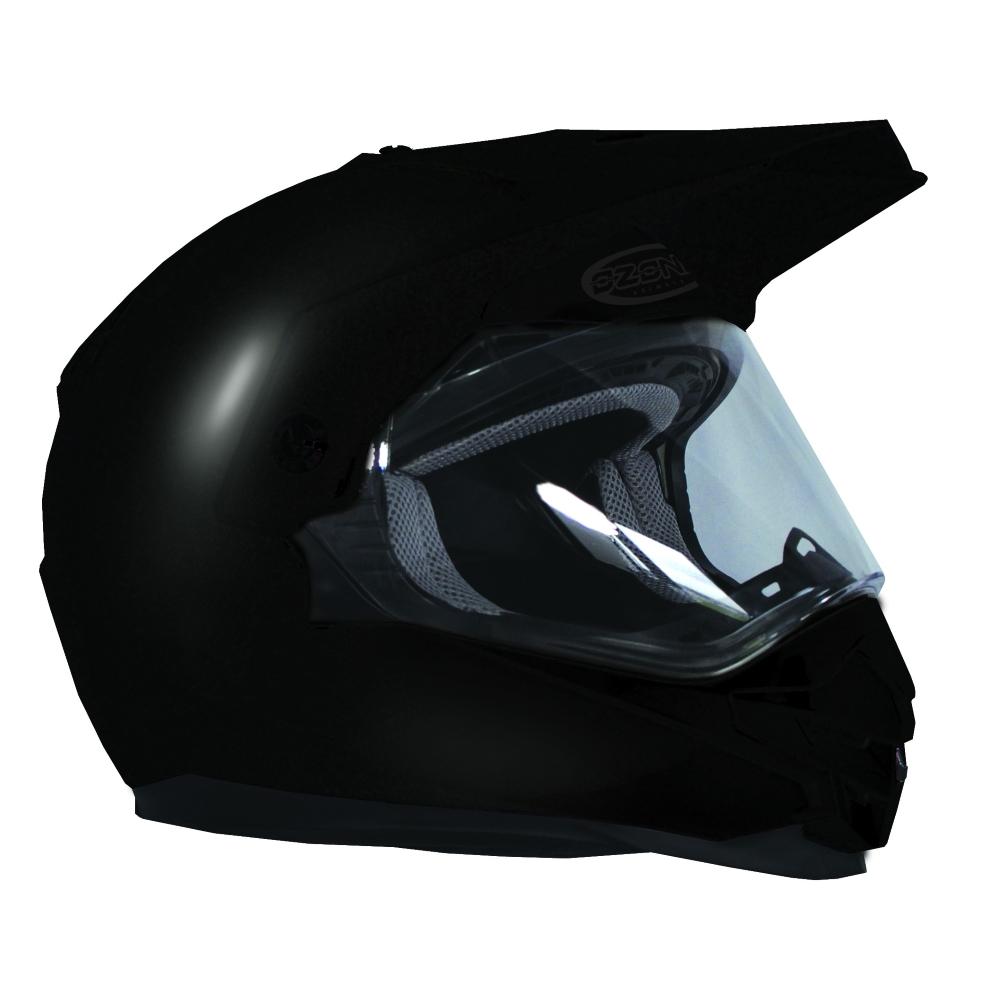 Enduro přilba Ozone MXT-01 černá lesk - S (55-56)
