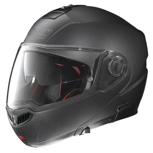 Moto helma Nolan N104 Absolute Special N-Com Black Graphite L (59-60)
