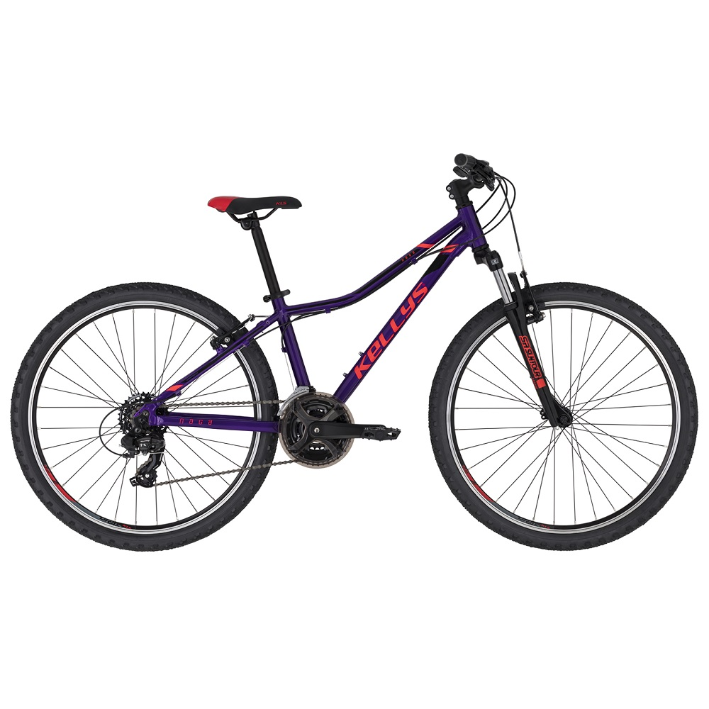 "Juniorské kolo KELLYS NAGA 70 26"" - model 2020 Purple - 13,5"" - Záruka 10 let"