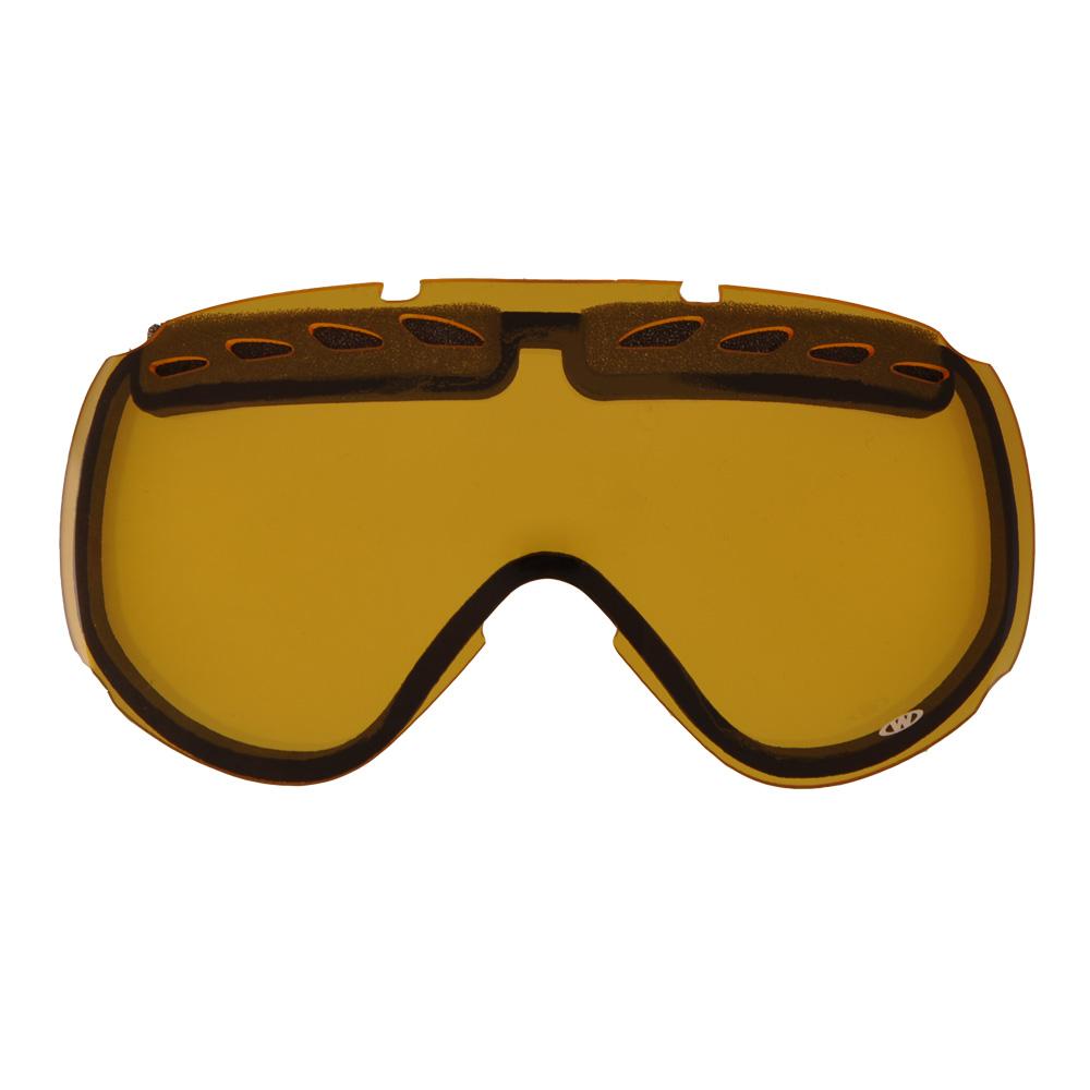 Náhradní sklo k brýlím WORKER Bennet žluté