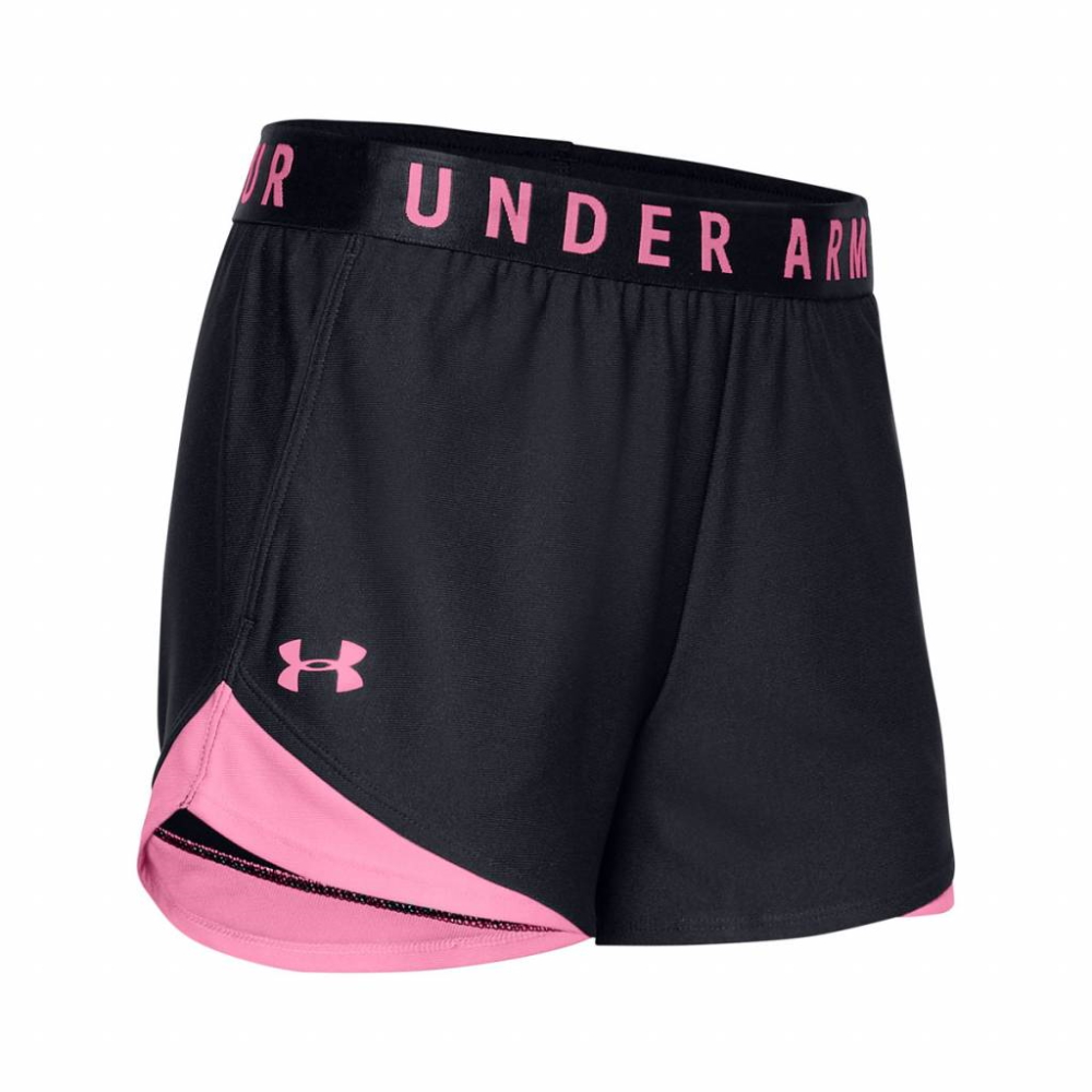 Under Armour Play Up Short 3.0 Black-Pink - XS