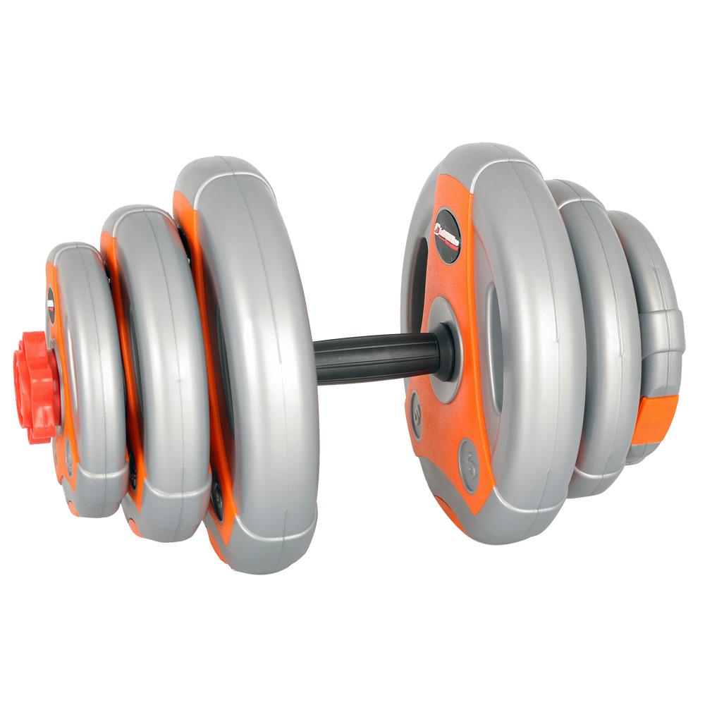 Jednoruční nakládací činkový set inSPORTline 3-18 kg