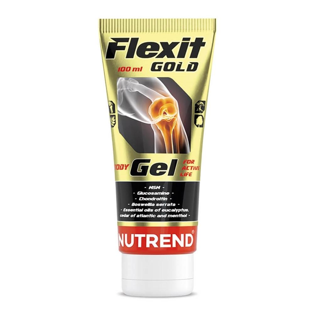 Tělový a masážní gel Nutrend Flexit Gold Gel