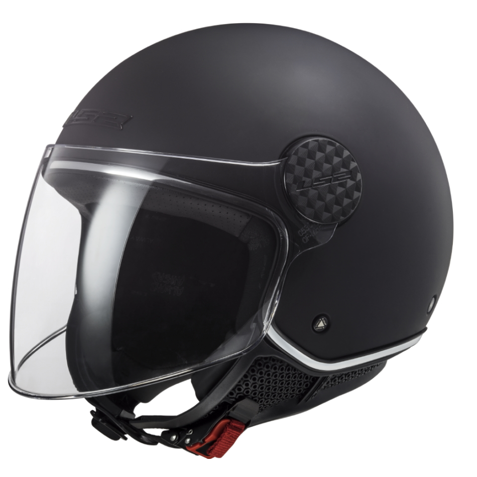 Moto Přilba Ls2 Of558 Sphere Lux Matt  Matt Black  Xs (53-54)