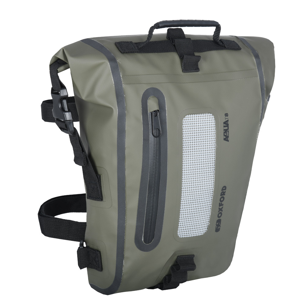 Oxford Aqua T8 Tail Bag khakičerná