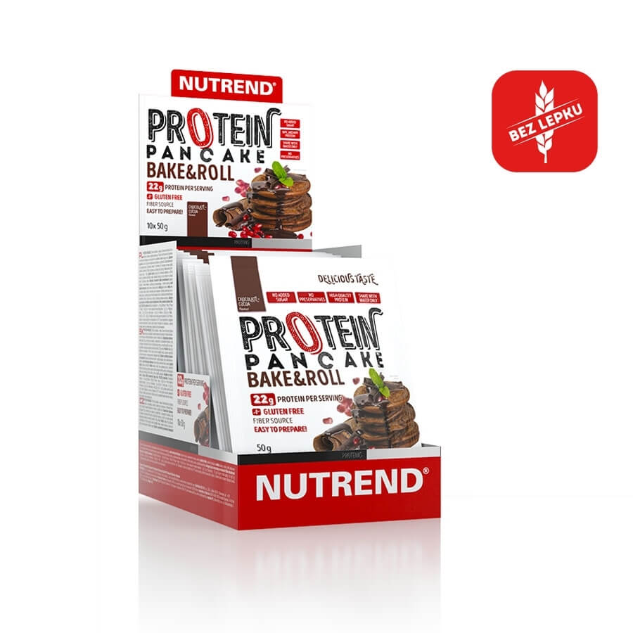 Nutrend Protein Pancake 10x50g natural