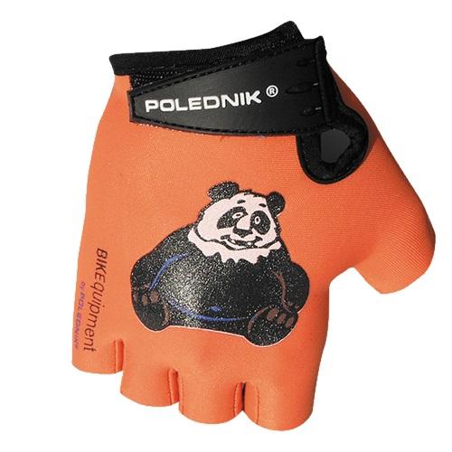 Dětské cyklo rukavice Polednik Baby panda - 3