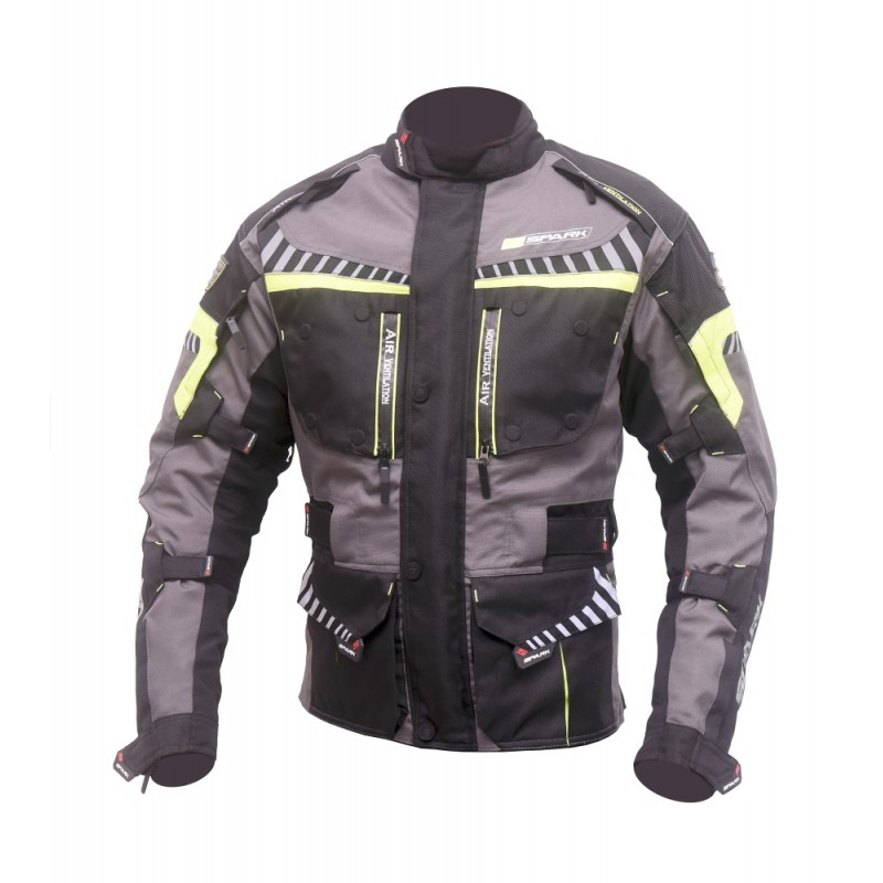Moto bunda Spark Roadrunner černá - 3XL 1abf6aa3ed