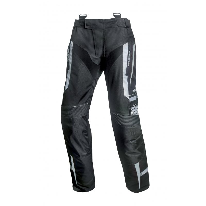 Pánské Textilní Moto Kalhoty Spark Mizzen  Černo-Šedá  S