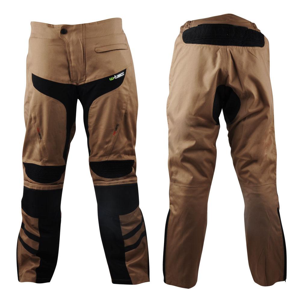 Pánské moto kalhoty W-TEC Kalahari Desert Sand - L