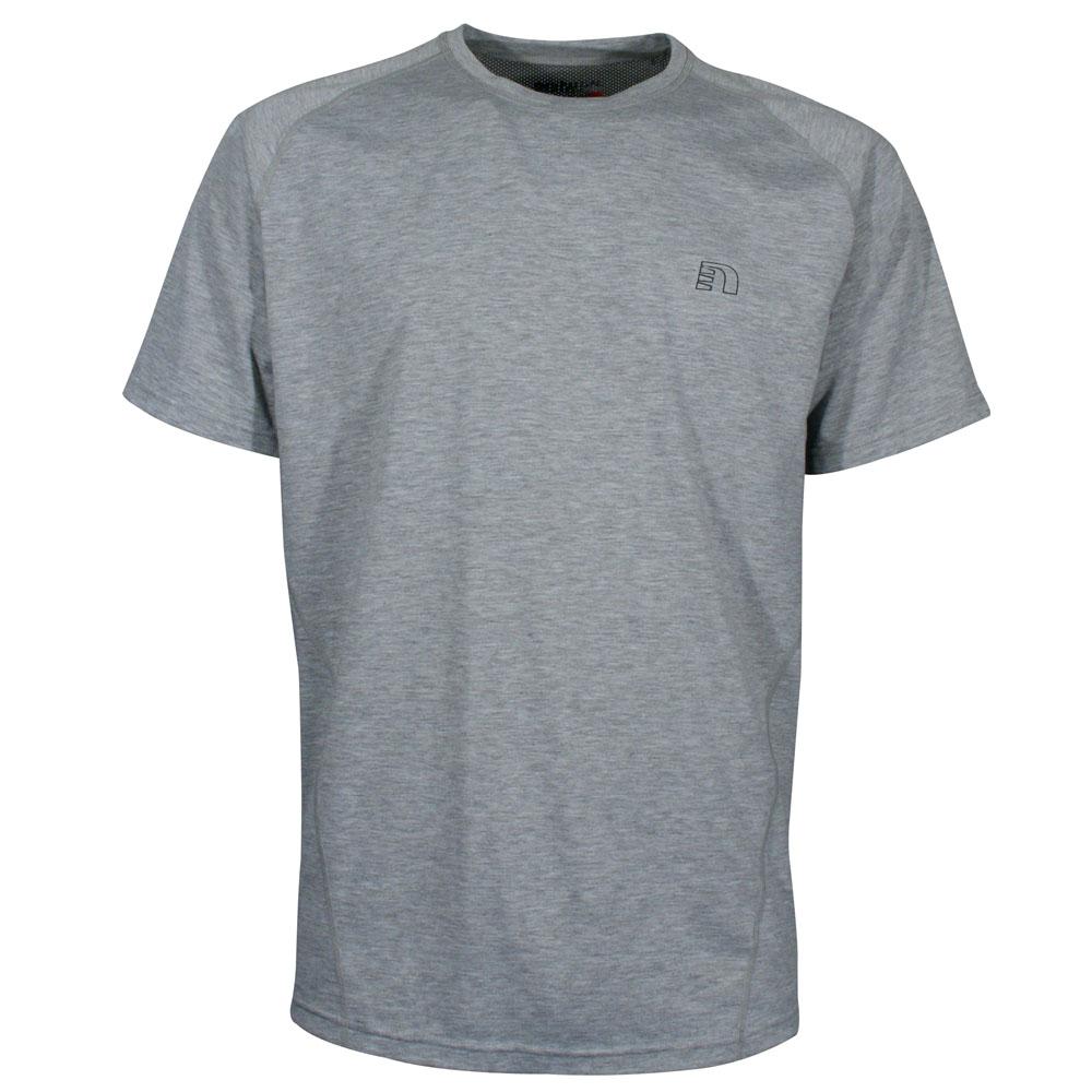 Pánské sportovní tričko Newline Wind šedá - L