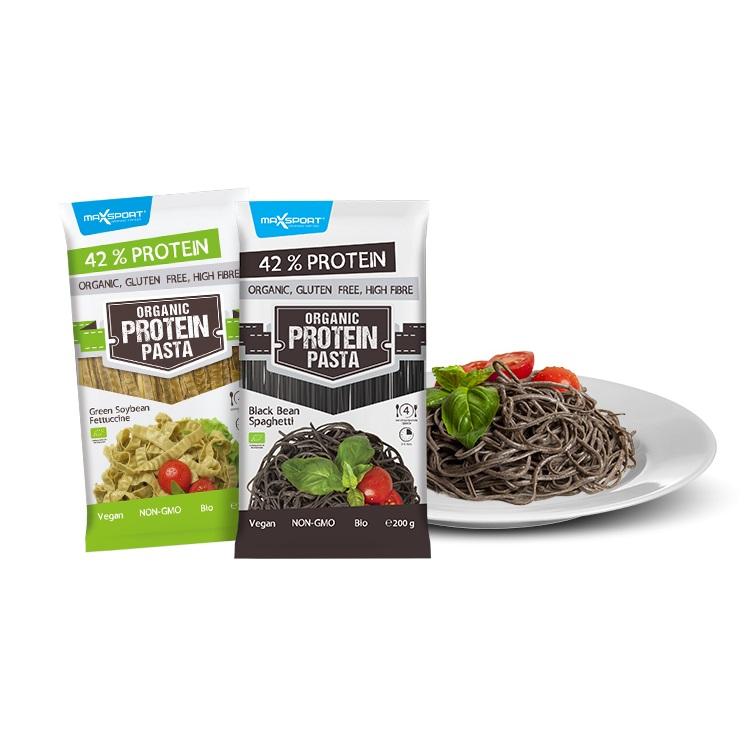 Proteinové těstoviny MAX SPORT Protein Pasta zelená sója