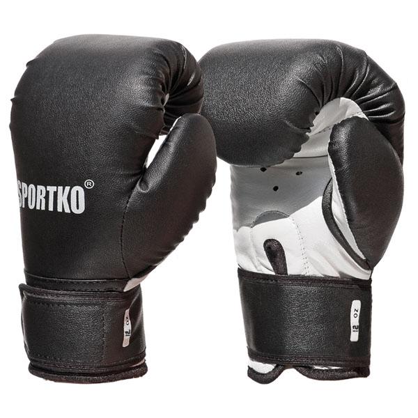 Boxerské rukavice SportKO PD2 černá - 10oz
