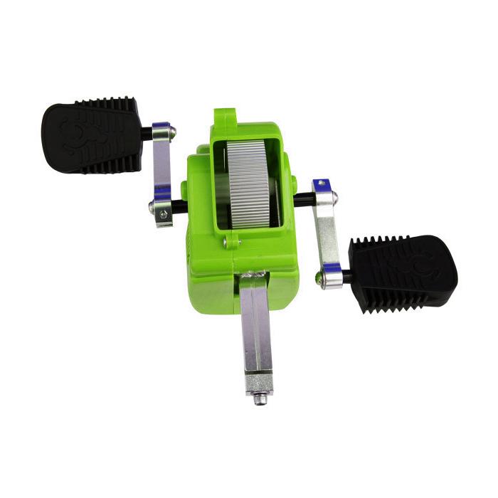 Přídavné pedály SPARTAN se setrvačníkem k odrážedlu JD Bug zelená