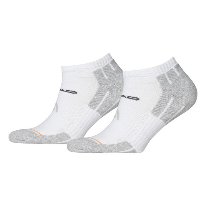 Kotníkové ponožky Head Performance Sneaker UNISEX - 2 páry bílo-šedá - 35-38
