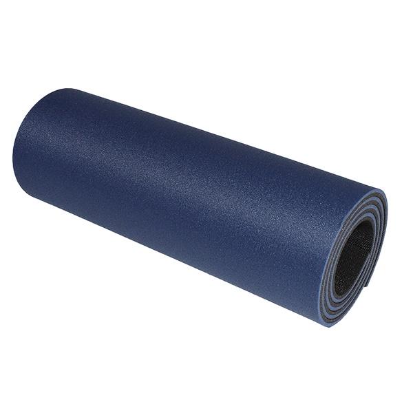 Dvouvrstvá karimatka Yate 180x50x1 cm černo-modrá