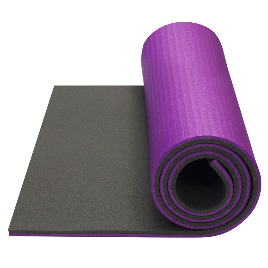 Karimatka Yate Fitness Super Elastic tmavě šedá