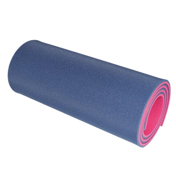 Dvouvrstvá karimatka Yate 180x50x1,2 cm modro-růžová