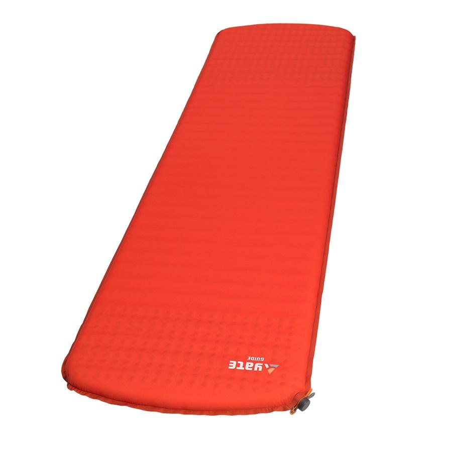 Samonafukovací karimatka Yate Guide červená 183x51x3,8 cm