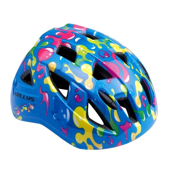 Dětská cyklistická přilba KELLYS Smarty graffiti blue - M