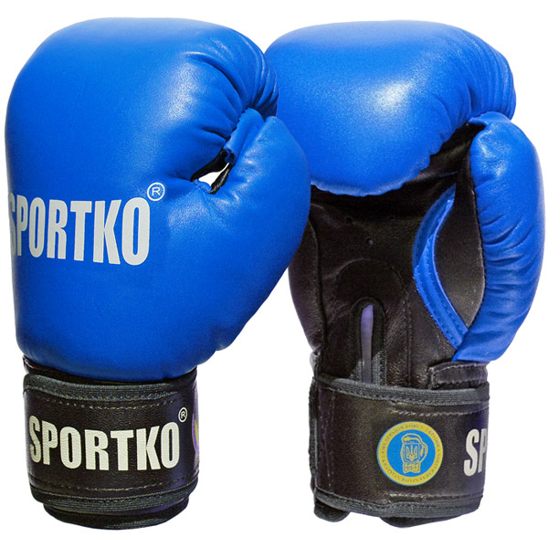 Boxerské rukavice SportKO PK1 modrá - 10oz