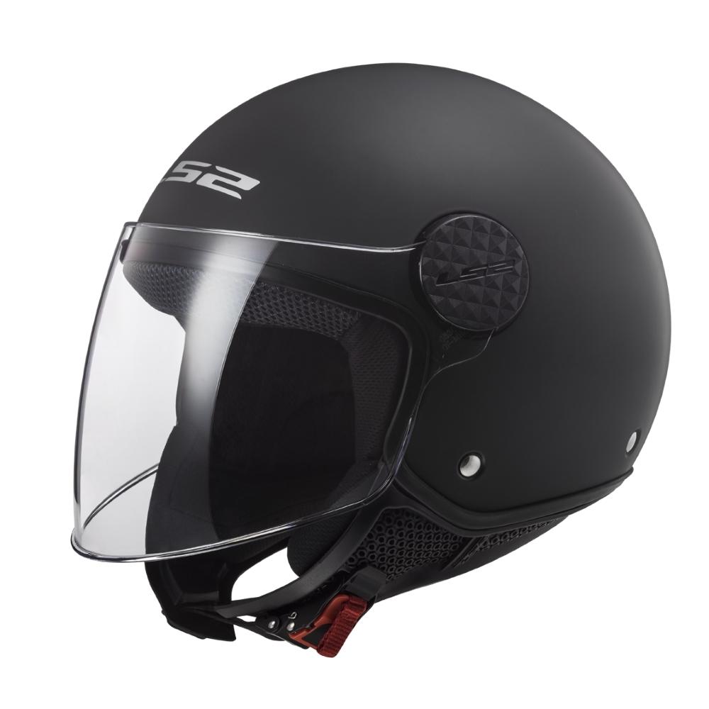 Moto přilba LS2 OF558 Sphere Lux Solid Matt Black - XS (53-54)