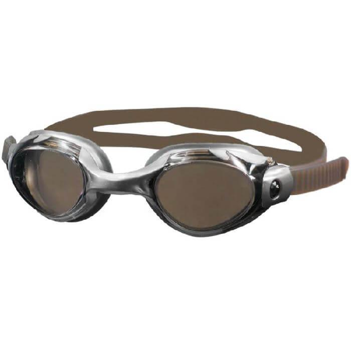 Plavecké brýle Aqua-Speed Merlin stříbrno-hnědá