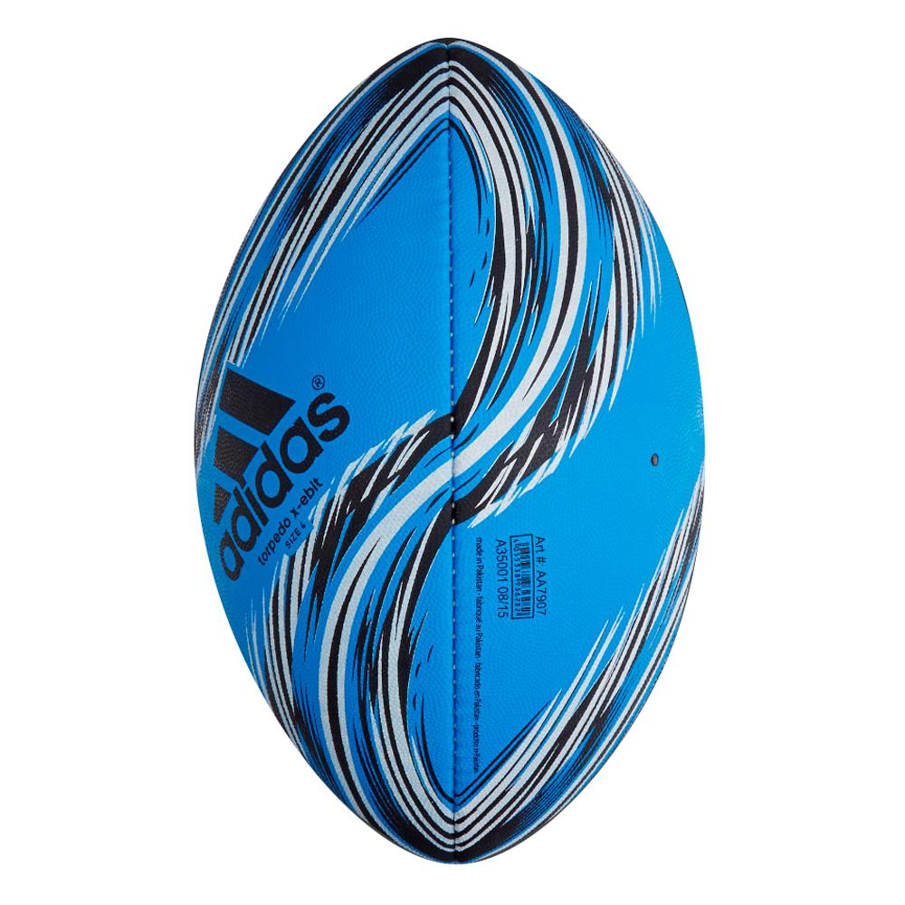 Míč na rugby Adidas Torpedo X-EBIT3 AA7907 modrý vel. 4