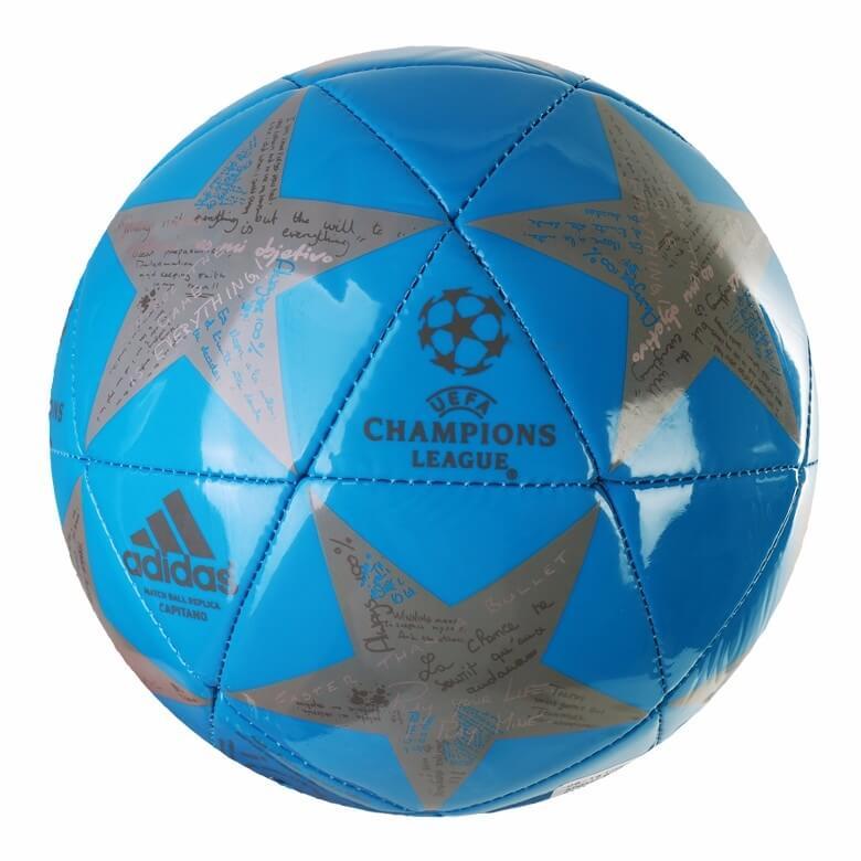 Fotbalový míč Adidas Capitano Finale 16 AP0377 modrá vel. 5
