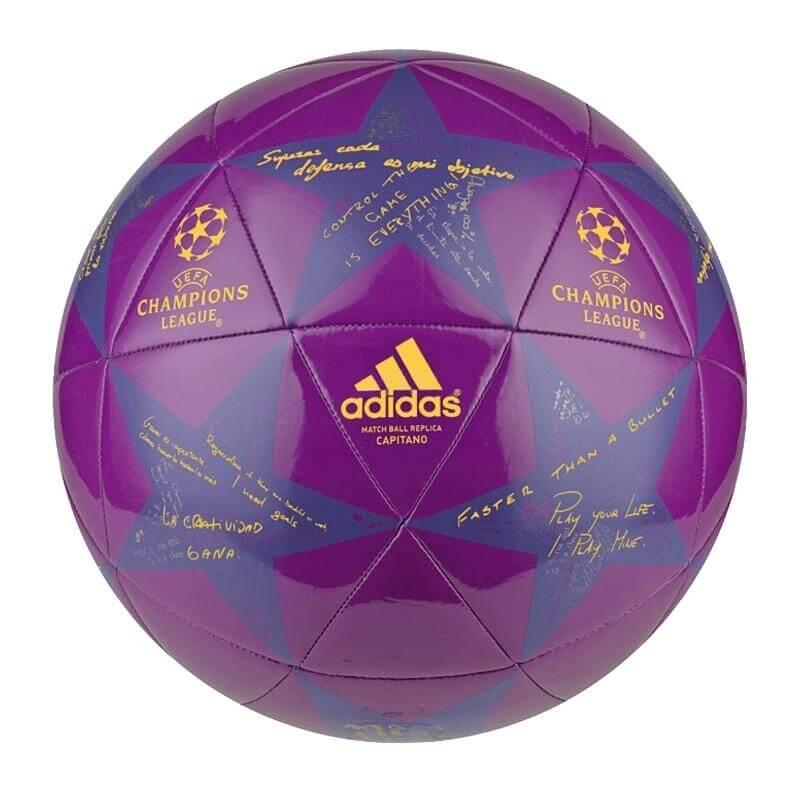 Fotbalový míč Adidas Capitano Finale 16 AP0378 fialová vel. 3