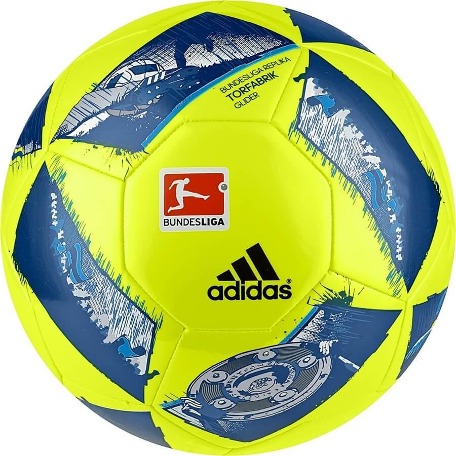 Fotbalový míč Adidas DFL Glider AO4826 žluto-modrá