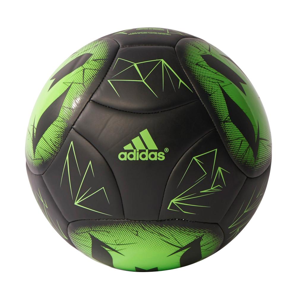Fotbalový míč Adidas Messi Q4 AP0407 černo-zelená