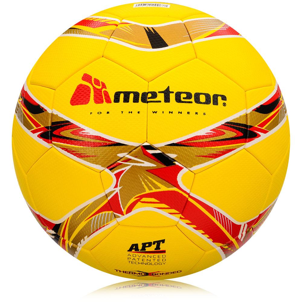 Fotbalový míč Meteor 360 Grain TB žlutý vel. 5
