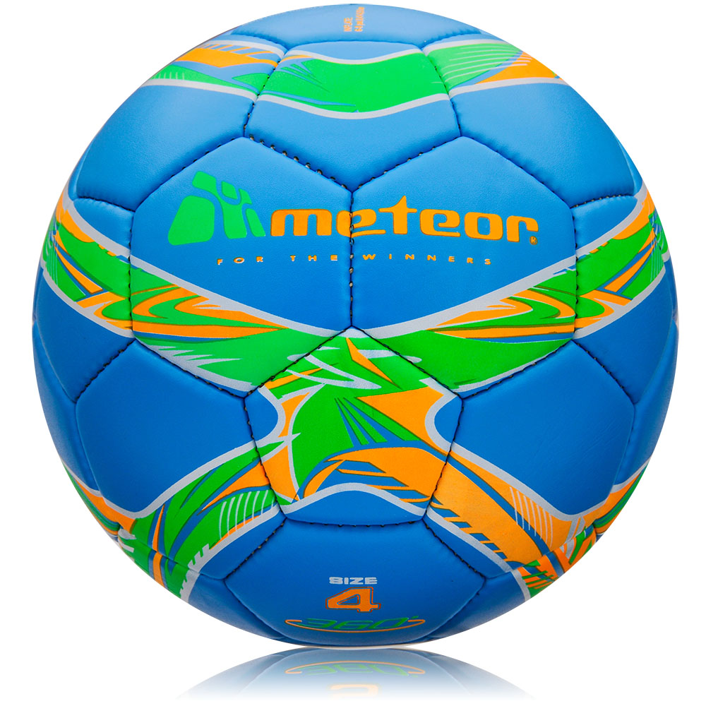 Fotbalový míč Meteor 360 Mat HS modrý vel. 4