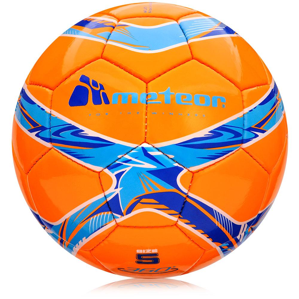 Fotbalový míč Meteor 360 Shiny HS oranžový vel. 5