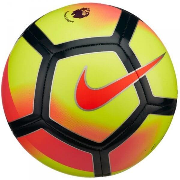 Fotbalový míč Nike Pitch červené logo