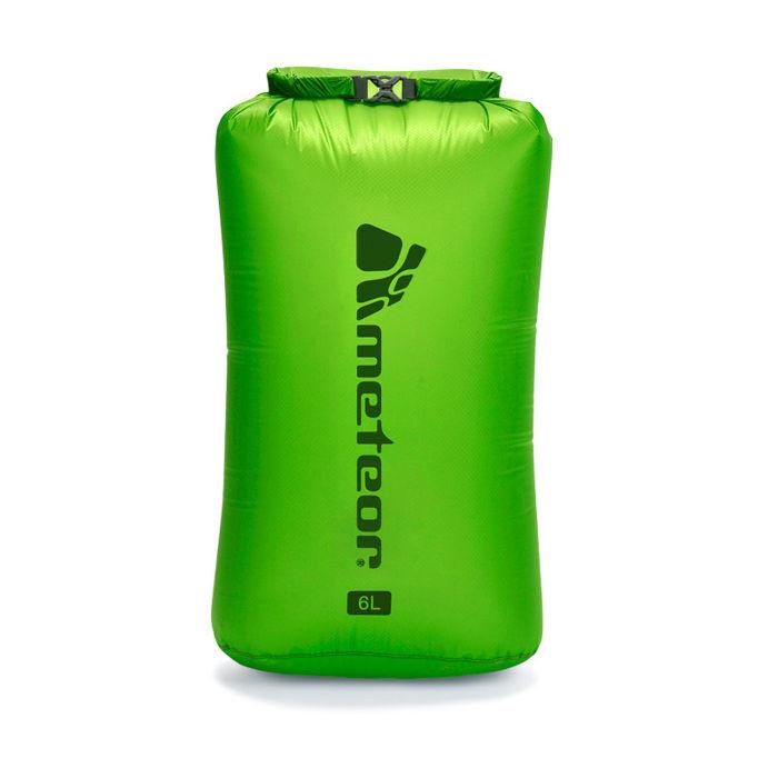 Nepromokavý vak Meteor Drybag 6 l zelená