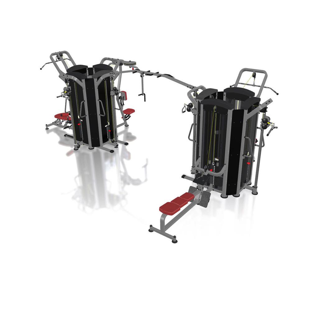 Multifunkční posilovací věž Marbo Sport MP-T003 - Montáž zdarma