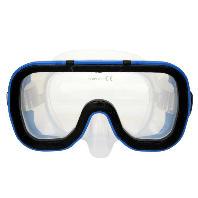Potápěčské brýle Francis Silicon Tahiti Junior modrá