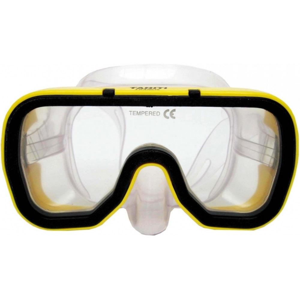 Potápěčské brýle Francis Silicon Tahiti Junior žlutá