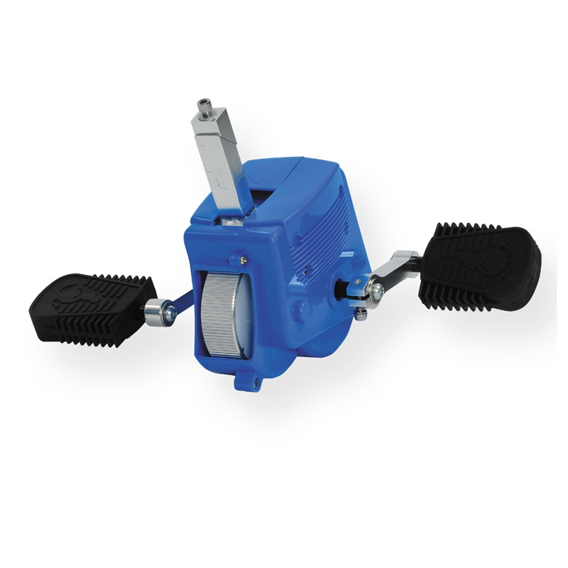 Přídavné pedály se setrvačníkem k odrážedlu JD Bug Billy modrá