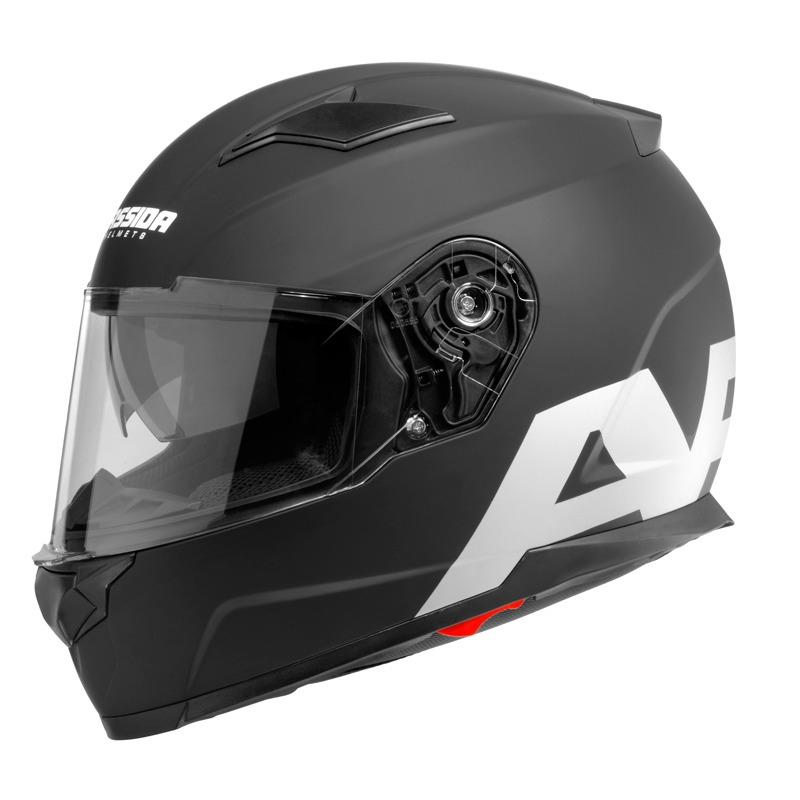 Moto přilba Cassida Apex Vision černá matná/šedá reflexní - XS (53-54) CASSIDA