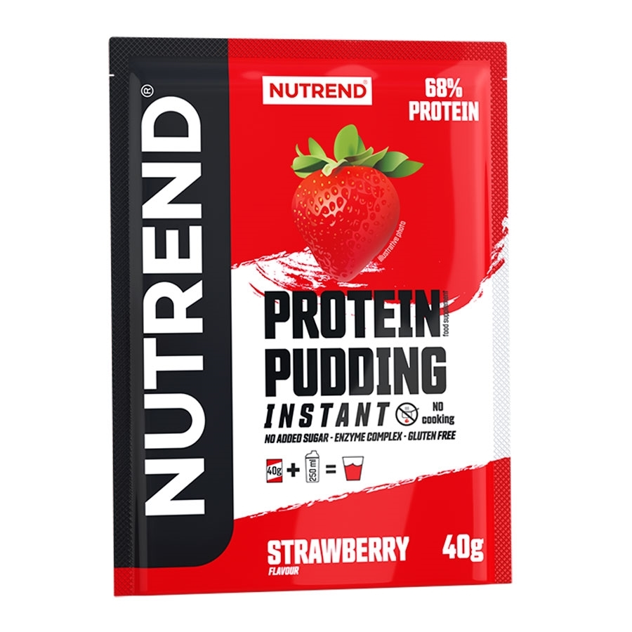Nutrend Protein Pudding 5x40g jahoda