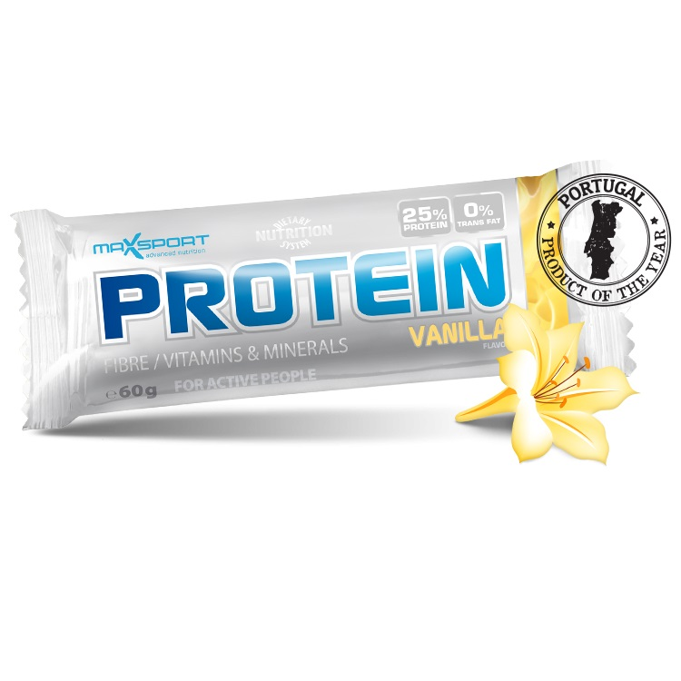 Proteinová tyčinka MAX SPORT GF vanilka