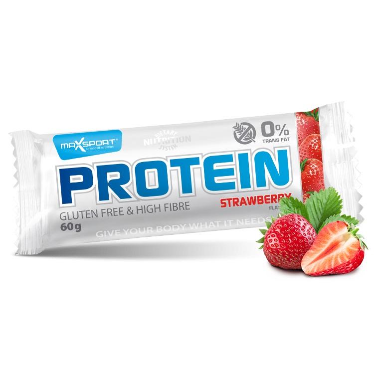 Proteinová tyčinka MAX SPORT GF jahoda
