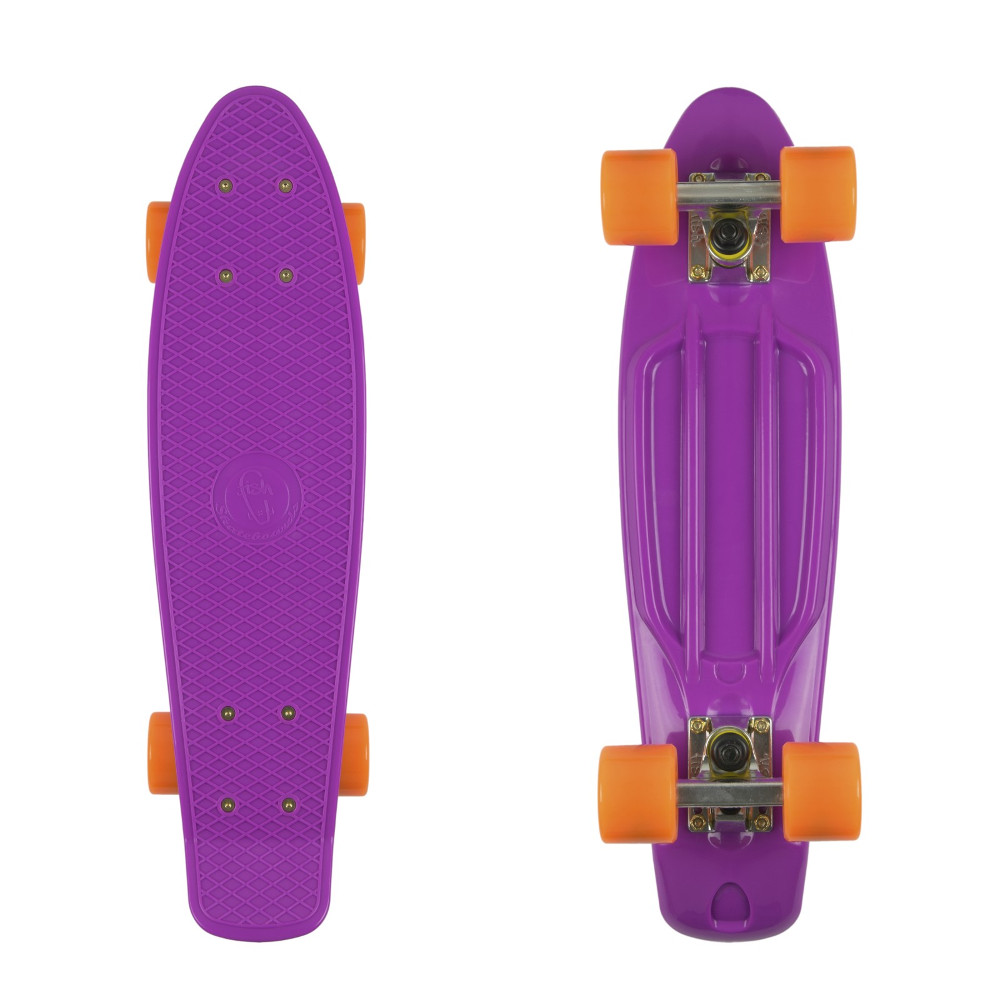 "Penny board Fish Classic 22"" Purple-Silver-Orange"
